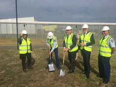 More jobs are on the way with the first sod turned at the South Coast Correctional Centre expansion today. @garethjward @http://NSWJusticepic.twitter.com/n0kwffSvTC