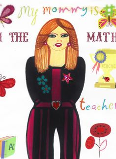 Mary teacher's math to high school students and her twin sister Heather teaches Art to middle school students.