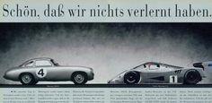 1952 Mercedes 300SL VS 1989 Sauber-Mercedes C11