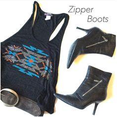 Hp 12/6/16zipper Boots