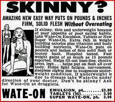 Amazing new easy way puts on pounds & inches firm, solid flesh... WITHOUT OVEREATING!