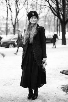 #StreetStyle en la Alta Costura de París © Josefina Andrés