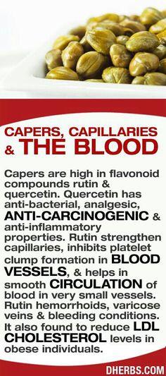 capers, capillaries