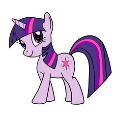 How to draw Twilight Sparkle from My Little Pony TV series