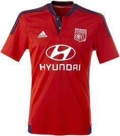 Olympique Lyonnais 2015-16 adidas Away