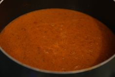 I'll definitely be making this tomato soup during the cool fall months!