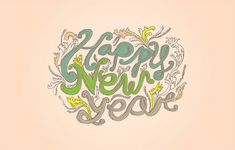 Type Tuesday: New Year by karli ingersoll on Flickr. #viaGlamour