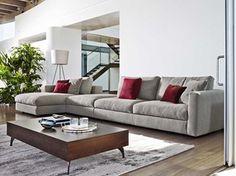 Modulares Sofa aus Stoff URBAN FASHION