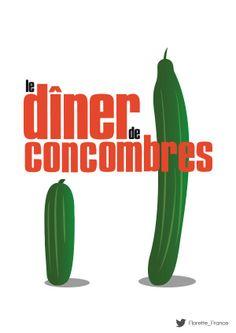 Le dîner de concombres #UnLegumeDansUnFilm #Florette #Veggister