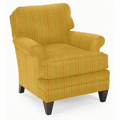 Camden Chair in Pickering Stripe Goldenrod | Fine Furniture, Chairs and Chaises from Company C