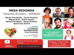 MESA REDONDA con los ponentes del Domingo del 6º Congreso de alimentación…