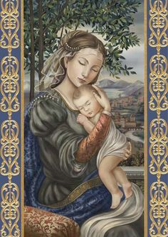 GroBartig Lombardo U2014 Madonna And Child Florentine Style