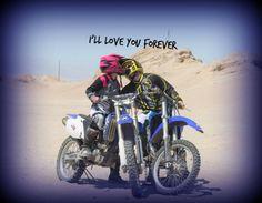My Love Danielle James Oxford Helmet Kiss Dirt Bike
