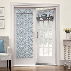 French Door Curtains, French Doors Patio, Patio Doors, Curtains Kohls, Drapes Curtains, Door Panel Curtains, Waverly Curtains, Sliding Door Curtains, Valances
