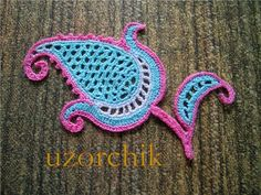 Crochet Paisley patterns ~ Craft , handmade blog www.webchiem.com