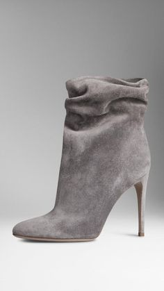 67e505abaa Burberry Suede Ankle Boots. Available at burberry.com Women s Ankle Boots