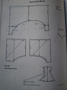 patterncutting for lingerie beachwear and leisurewear - blanca estela cifuentes flores - Picasa Albums Web
