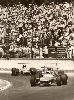 Ernesto Brambilla - Ferrari Dino 166 - SpA Ferrari SEFAC - Gran Premio YPF 1968 - XVII Temporada Argentina