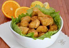 Il pollo croccante agli agrumi è proprio così, irresistibile e non è mai abbastanza... un boccone tira l'altro! Provatelo anche voi e poi mi direte!