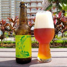 Essa é aSingle Hop Mosaic IPA da consagradíssima cervejaria dinamarquesa Mikkeller - considerada por muitos uma das melhores cervejarias do mundo.  ASingle Hop Series é mais uma daquelas onde a base é igual e podemos experimentar as variações com apenas um lúpulo. Eu gosto muito dessas séries principalmente se você puder tomar uma seguida da outra. Assim fica mais fácil identificar as diferenças entre elas.  Nesse rótulo o Mosaic ganha vez. A cerveja é uma American IPA com 69% de teor…