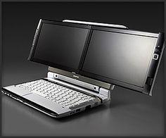 Onkyo Dual Screen DX Laptop - now we're talking :) #MobileTech