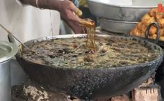 Hands In Boiling Oil- Indian Chef Fries Fish With Bare Hands