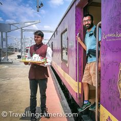 First day on Golden Chariot - The Luxury Train of South India