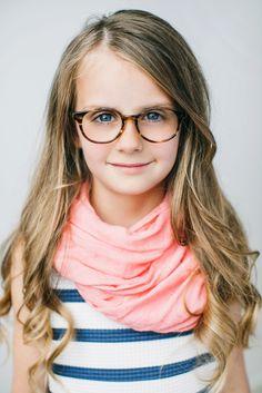 Girls Eyeglass Frames // Paige Frame // Tortoise // www.jonaspauleyew...