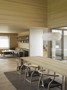 Interiors of House in Field by Bernardo Bader, via Faith is Torment | Art and Design Blog