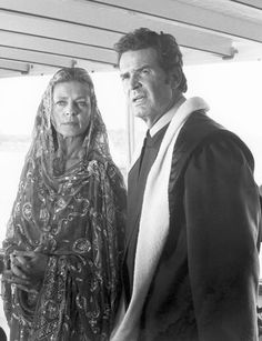 """The Rockford Files — """"Lions, Tigers, Monkeys and Dogs: Part 2,"""" Season 6, Oct. 12, 1979 — Lauren Bacall, James Garner"""