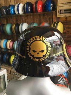 Harley Davidson Helmet With WW German Motorcycle Style Harley Davidson Helmets, Half Helmets, Motorcycle Style, Art Drawings, German, Vehicle, Color, Black, Deutsch