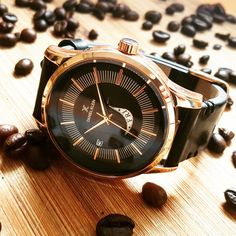 Trendy Watches, Watches For Men, Daniel Klein, Leather, Accessories, Top Mens Watches, Men's Watches, Men Watches, Jewelry