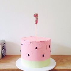 7 simple, funny and super cute birthday cakes for your little ones by Hello Naomi Hello Naomi, Cute Birthday Cakes, Birthday Ideas, Flamingo Cake, Frog Cakes, Puppy Cake, Watermelon Cake, Cupcakes, Specialty Cakes