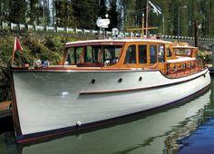 vintage wooden boat plans - Поиск в Google