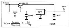 Reguladores de tensão 7800 (ART156)