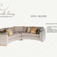 Sofa curvo. Creando espacios originales y funcionales.