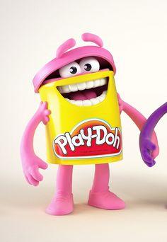 Nicolas Lesaffre Character Design - Play-Doh