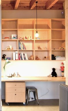 Home office work space   Quality Plywood Furniture made in New Zealand   Make Furniture