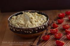 Salată de vinete cu maioneză vegană Veg Recipes, Cheddar, Apple Pie, Muffin, Tasty, Meals, Vegetables, Breakfast, Desserts
