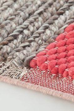Karpet GAN-rugs Mangas plait coral detail