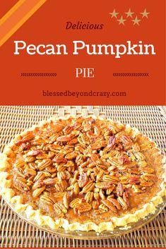 Pecan Pumpkin Pie (1)