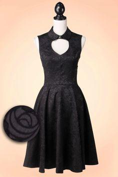 Robe Vintage à manches longues bleu profond V cou cercle robe femmes ... 68d51167aef9