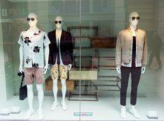 Zara window display, geometric, metal props. 2017, September, Dublin, Ireland Retail Space, Dublin Ireland, Media Design, Wordpress, September, Zara, Window, Display, Metal