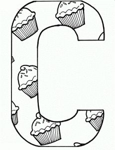 find this pin and more on letter c coloring pages - C Coloring Sheet