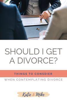 Deciding to divorce quiz