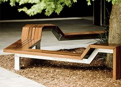 Cox Architects approached Tait design studio last year with an unusual design for outdoor seating. Despite initial production challenges, the puzzle came together perfectly. Bench Furniture, Urban Furniture, Street Furniture, Design Furniture, Outdoor Furniture, Concrete Furniture, Cheap Furniture, Luxury Furniture, Outdoor Seating