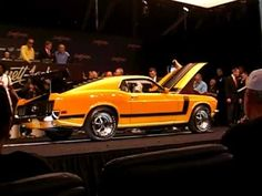 Complete auction for a 1970 Boss 302 Mustang as it crosses the block at Barrett Jackson January 2011