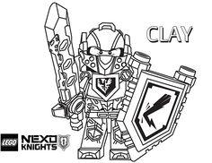 Nexo knight printable coloring sheets
