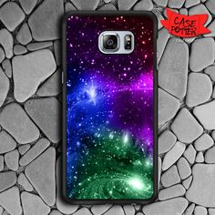 Galaxy Glow Samsung Galaxy S6 Edge Black Case