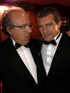 Marzio Villa and Antonio Banderas